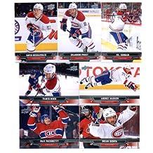 2013-14 Upper Deck NHL Hockey Montreal Canadiens Series 1 & 2 Veterans Team Set -15 Cards Including: Max Pacioretty David Desharnais Travis Moen Brandon Prust Andrei Markov P.K. Subban Brian Gionta
