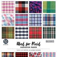 Mad for Plaid 12in Designer Paper