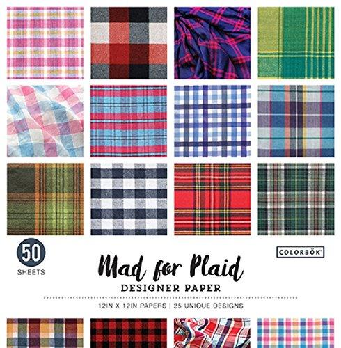 Plaid Supplies Craft (Mad for Plaid 12in Designer Paper)
