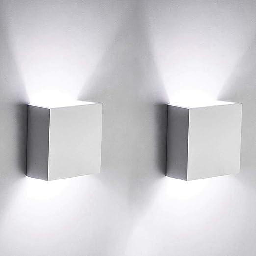 2W LED Wandlampe Flurlampe Wandleuchte Schlafzimmer  Up and Down Wand Leuchte DE
