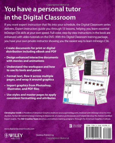 Adobe InDesign CS6 Digital Classroom by Wiley
