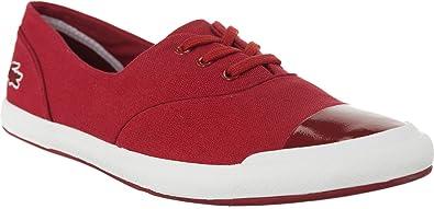 4897067e5b Lacoste , Baskets pour Femme - Rouge - Rojo, 37 EU: Amazon.fr ...