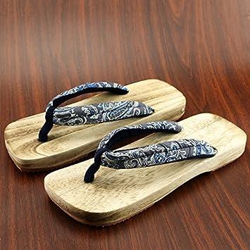 Style Chaussures Paire Mâle Japonais Xiamuo Bois Et Femelle De OPqvRZUw