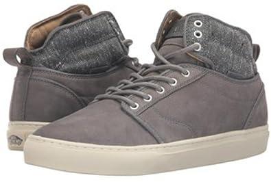 e95c6cc4df Vans Mens Alomar Tweed Gray Suede Fashion Skateboarding Shoes (7.5)