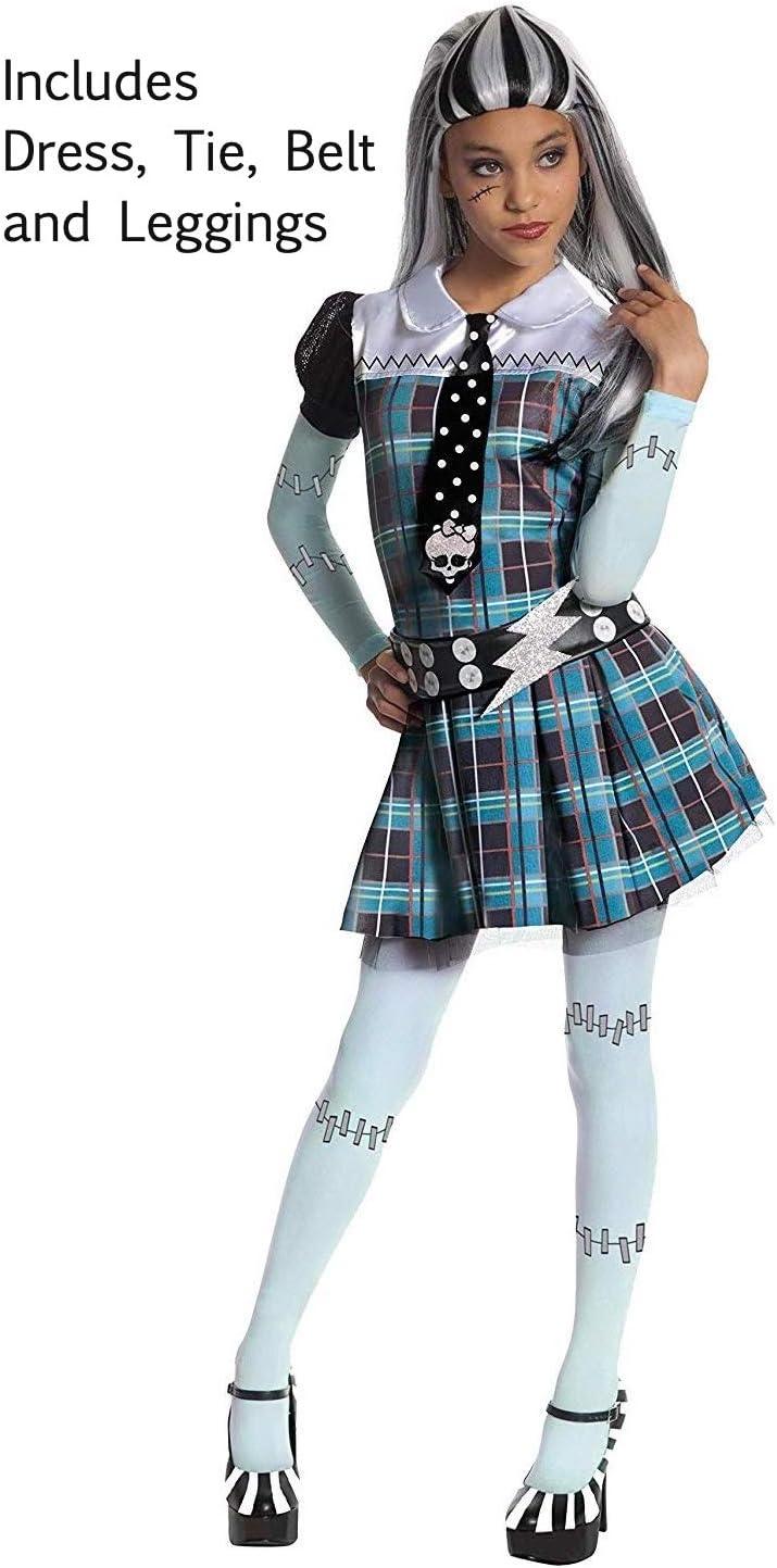 Monster High Kostueme Naehen.Rubies 3 884786 M Frankie Stein Kind Kostum Medium 5 7 Jahre 132cm Amazon De Spielzeug