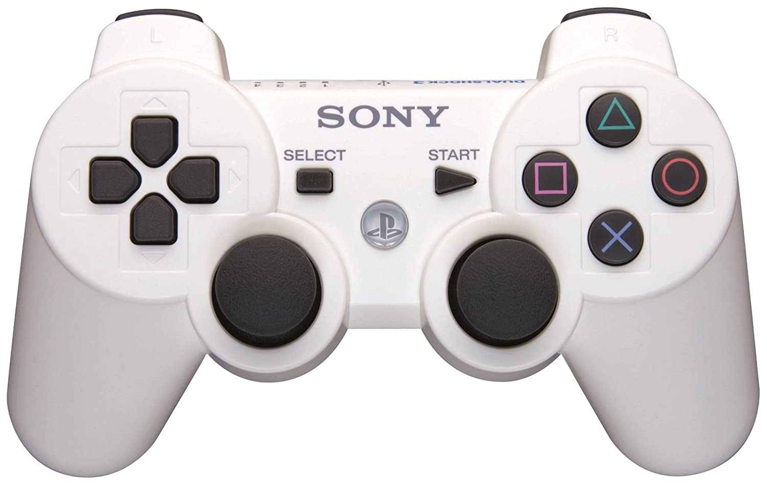 Sony DualShock 3 - Mando para Play Station 3, color blanco: Amazon.es: Videojuegos