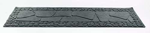 Imports Decor 827RBM Stone Rubber Step Mat, 33 by 10 by 1 4