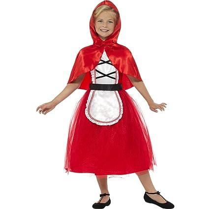 NET TOYS Disfraz Infantil Caperucita Roja - S, 4 - 6 años ...