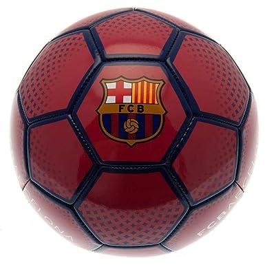 FC Barcelona - Balón de fútbol (Talla 5) (Rojo): Amazon.es: Ropa y ...