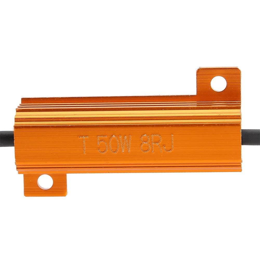 R/ésistance D/écodeur de r/ésistance de charge 50W 8ohm 2 pi/èces