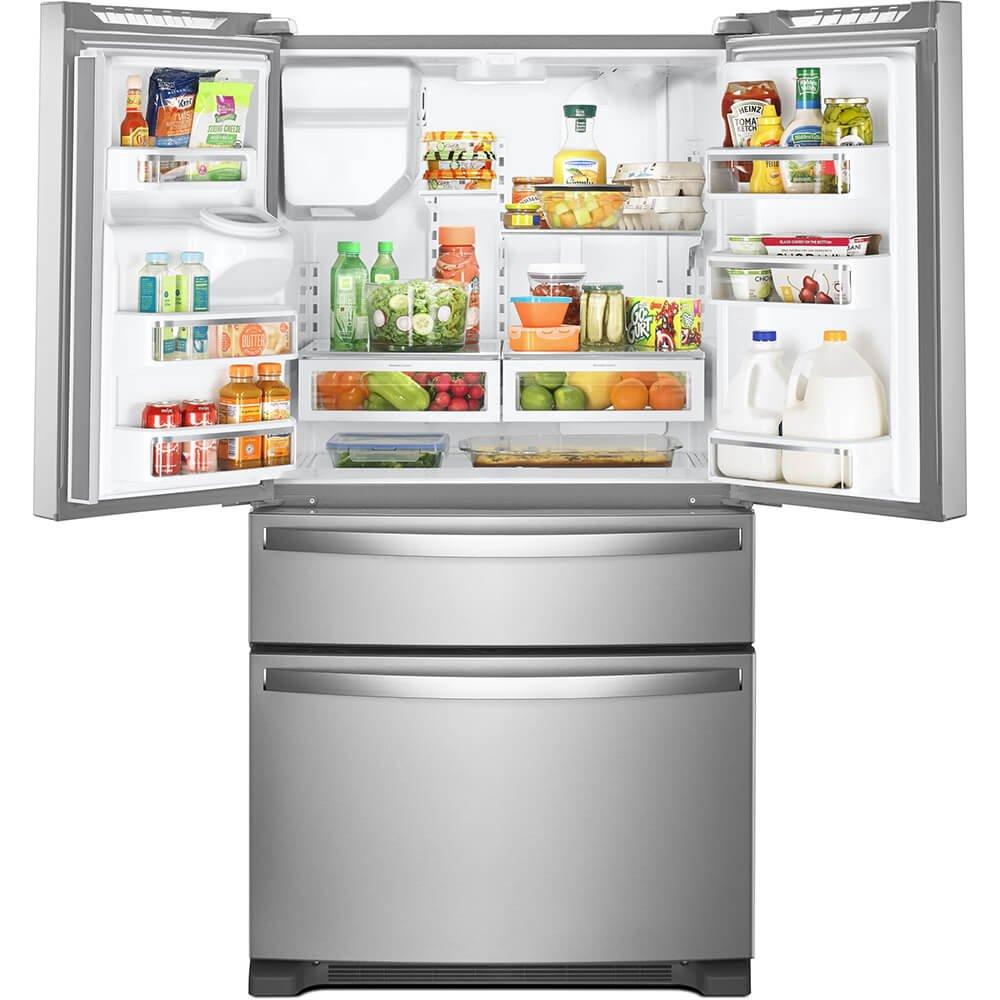 4-Door French Door Refrigerator Ft Whirlpool WRX735SDHZ 25 Cu