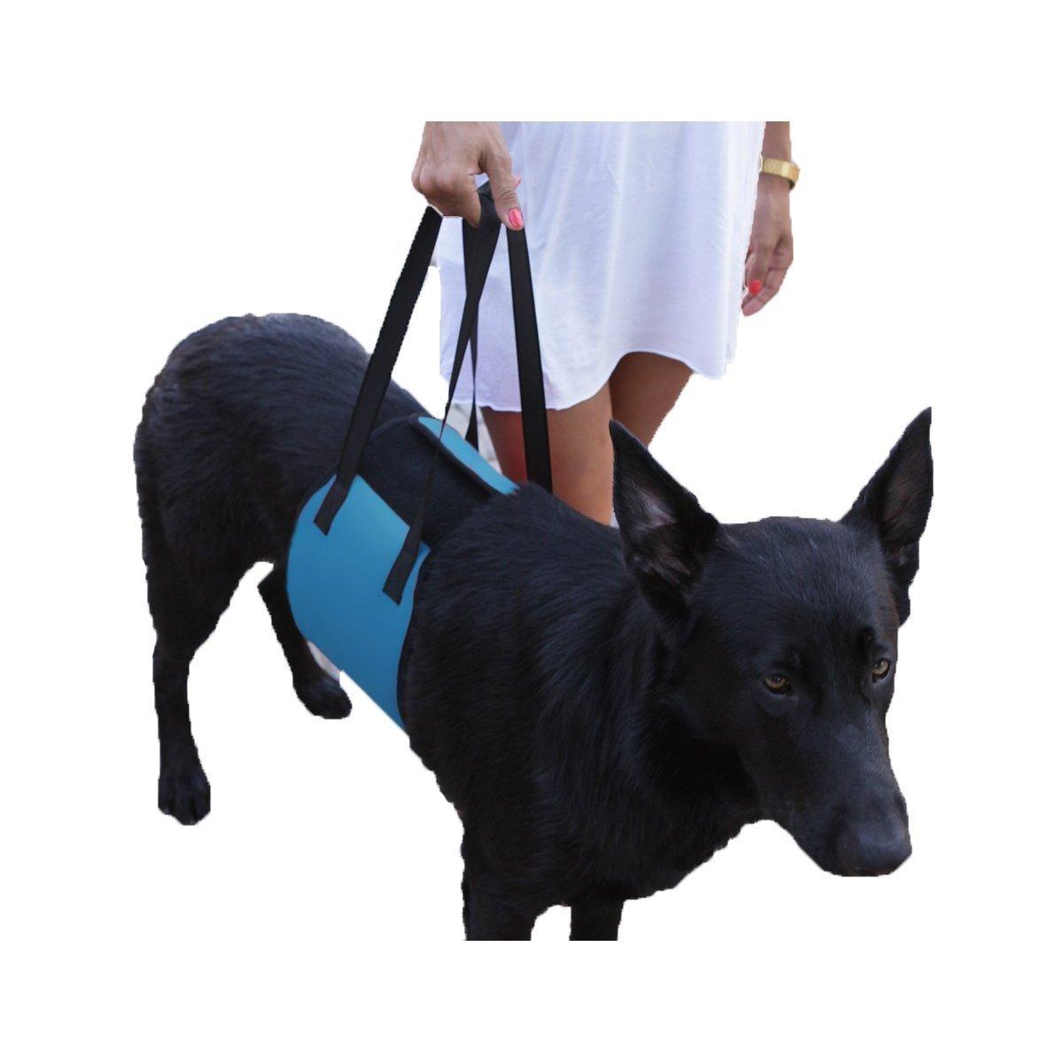 Harnais pour chien, S7 SEVEN Grand Chien Harnais support Sling Aide à Chiens avec faible Pieds Stand Up, marcher, les escaliers et Entrez dans voitures Prend en charge 45–34 kilogram Convient pour chiens de taille moyenne et grande pour la mob