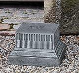 Campania International PD-211-AS Beacon Hill Pedestal, Alpine Stone Finish