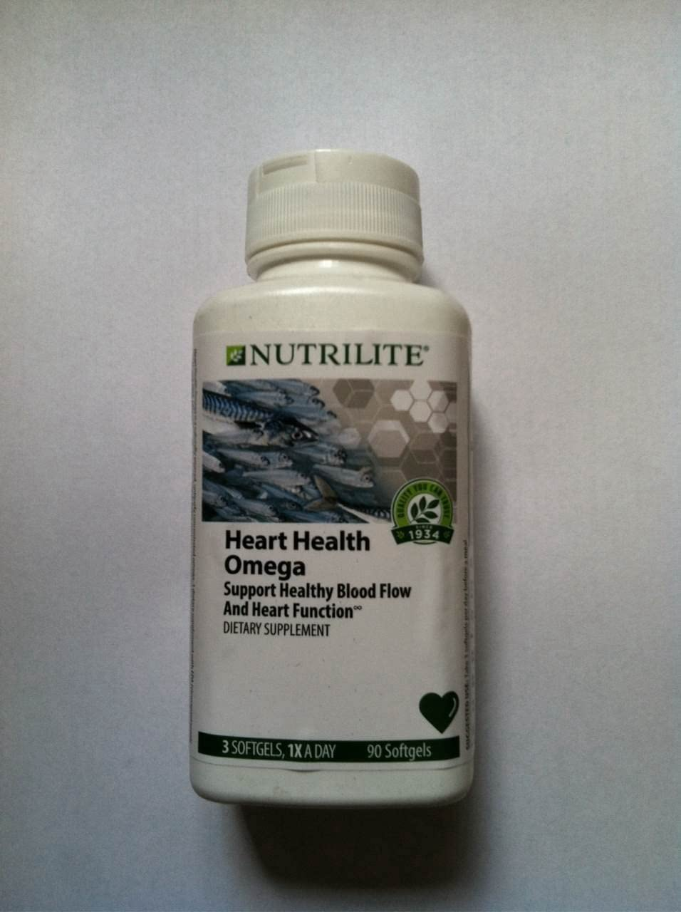 NUTRILITE OCEAN ESSENTIALS Heart Health – 90 softgels