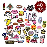 Aspire Iron-On or Sewing-On Embroidered Applique DIY Patches-Assorted