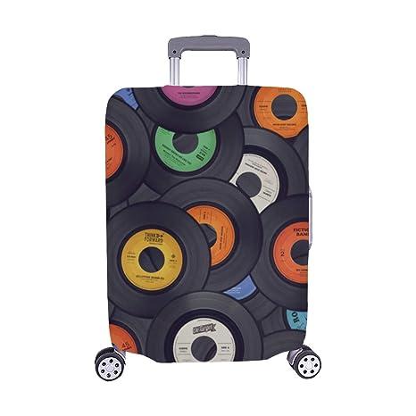 Color Música Carteles Patrón de Tarjeta Maleta Spandex ...