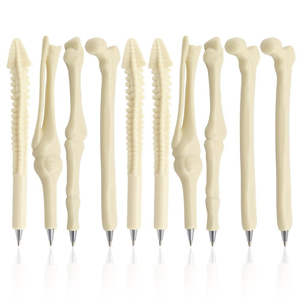 Novelty Bone-Shaped Ballpoint Pens