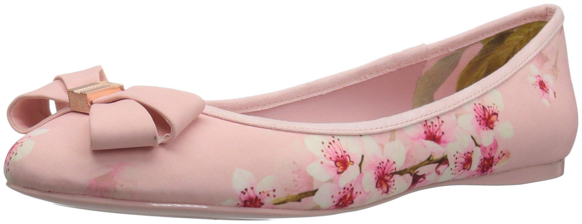 Ted Baker Women's Immet Ballet Shoe, Blossom Print Textile, 9.5 M US