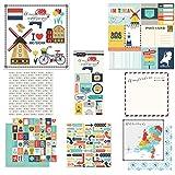 Scrapbook Customs Themed Paper & Stickers Scrapbook Kit, Amsterdam City Memories