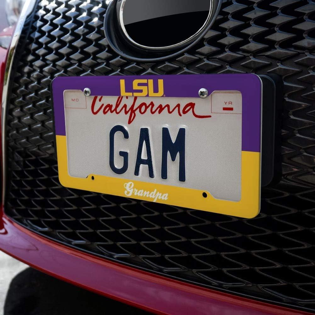 LSU Grandpa License Plate Tag Frame