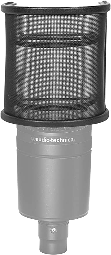 Rockville Pop Filter Curved Mesh Recording Microphone Windscreen for MXL 3000