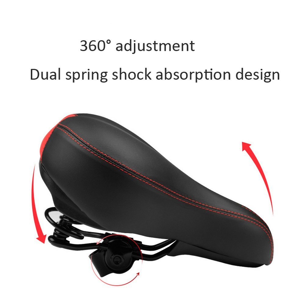 Amazon.com: COTEetCI Bike Saddle Seat Bicycle Saddle Mountain-Wide Comfort Soft Foam Cycling Seat Road MTB Gel Comfort Bicycle Seat Cushion Pad: Sports & ...