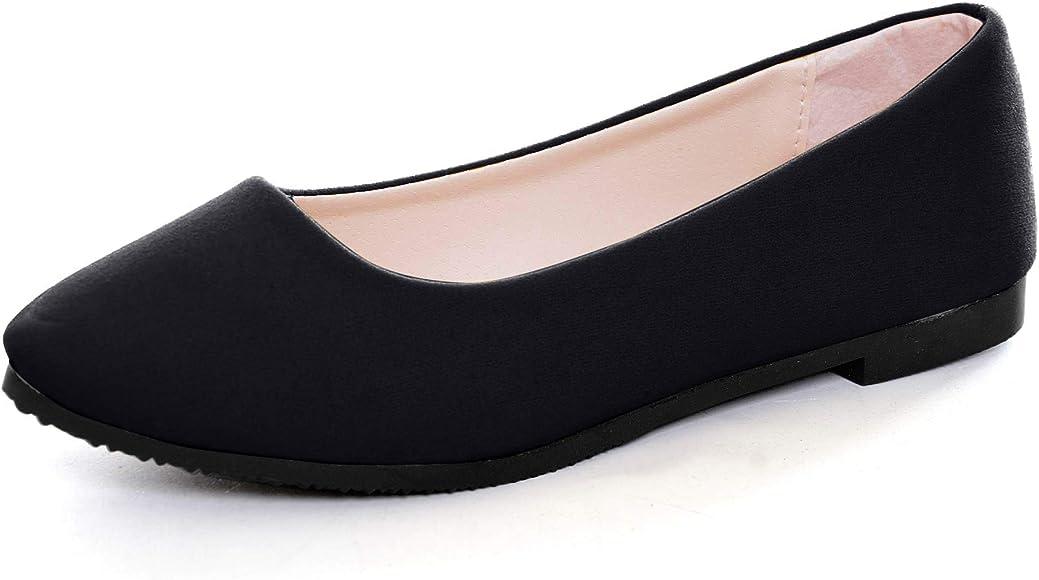 Slduv7 Women Comfortable Ballet Flats