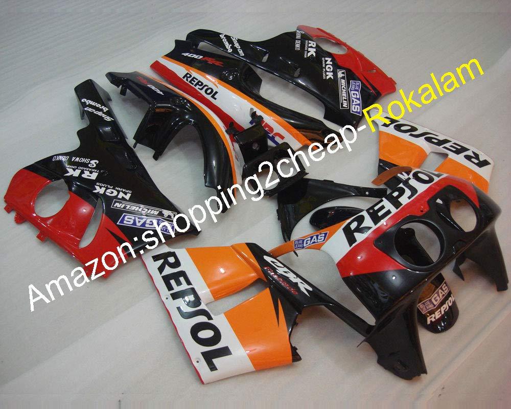 Venta caliente, Carenado para CBR400RR NC29 1990 - 1998 de Kit de cuerpo Cbr 400 Rr 90 - 98 1990 1991 1992 carrocería motocicleta embellecedores: Amazon.es: ...
