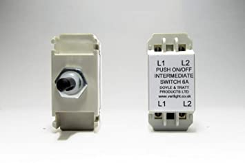 Varilight regulador de intensidad de interruptor de 2 Vías 0 ...
