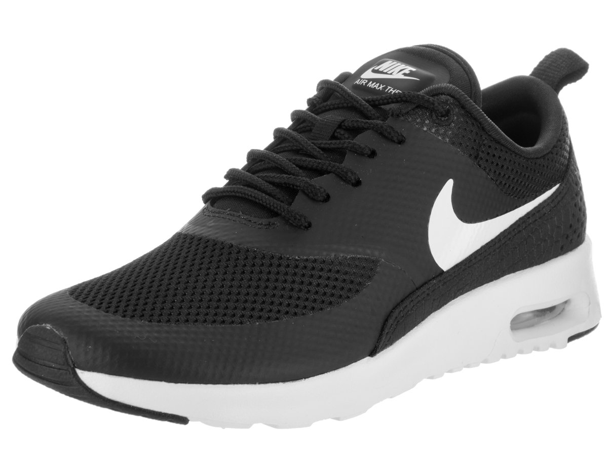 NIKE Women's Air Max Thea Low-Top Sneakers, Black B077Z5ST3P 6 B(M) US|Black / Summit White