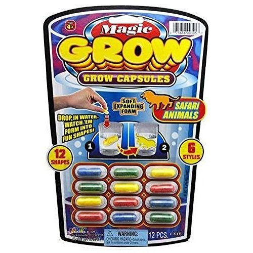 JaRu Magic Grow Capsules (One 6 various themes),
