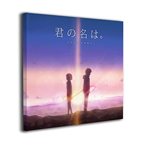 Amazon Com Trist Art Anime Your Name Painting Canvas Giclee Print