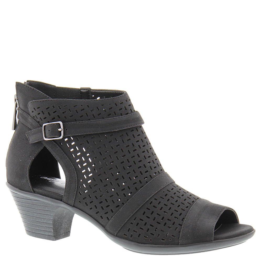 Easy Street Women's Carrigan Heeled Sandal, Black, 12 W US