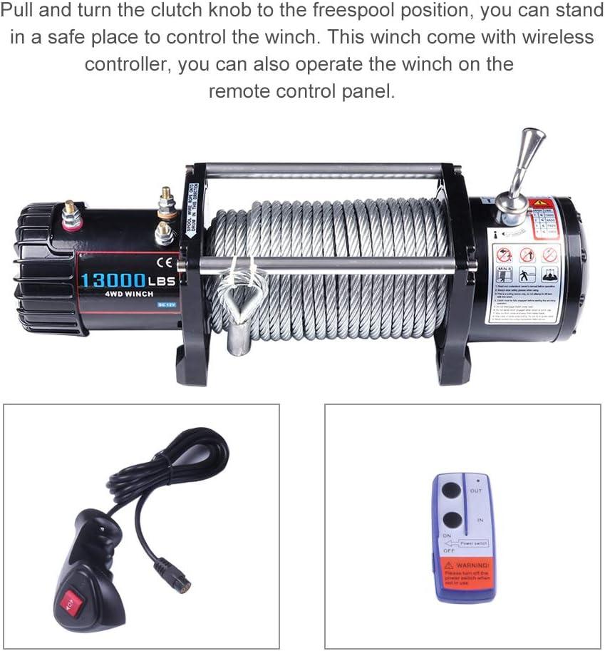 OCPTY Premium ORV//ATV//UTV Winch Corded Remote Rocker Switch 12V