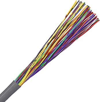 cat3 cable, 25 pair, utp, riser rated (cmr), solid bare copper grey 250ft cat 5 wiring diagram 568b cat 3 cable wiring #14