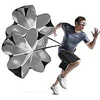 zuf/ällige Farbe Lergo 1 St/ück Speed Running Power 56 Sport Chute Widerstand /Übung-Training Fallschirm