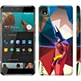 Noise OnePlus X Case/Back Cover + Free Tempered Glass, Noise Designer Premium PolyCarbonate Case Back Cover for OnePlus X [Slim fit, scratch & impact resistant MATTE finish] + Free Premium Tempered Glass (HD) - Screenguard (Crystal Knight)