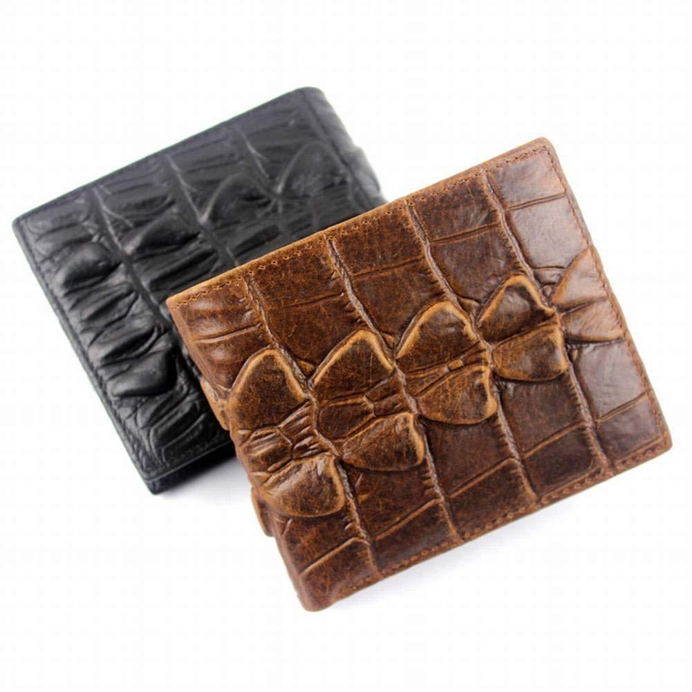 Creative Multifunction Wallet Crocodile Embossed Mens Wallet Wallet Short Business Mens Wallet for Men