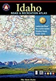 Idaho Road & Recreation Atlas by Benchmark Maps front cover