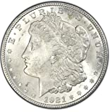 1921 Morgan Silver Dollar Gem Brilliant Uncirculated (BU) Condition Set Uncirculated