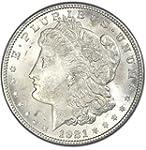 1921 Morgan Silver Dollar Gem Brilliant Uncirculated BU Condition Set Uncirculated