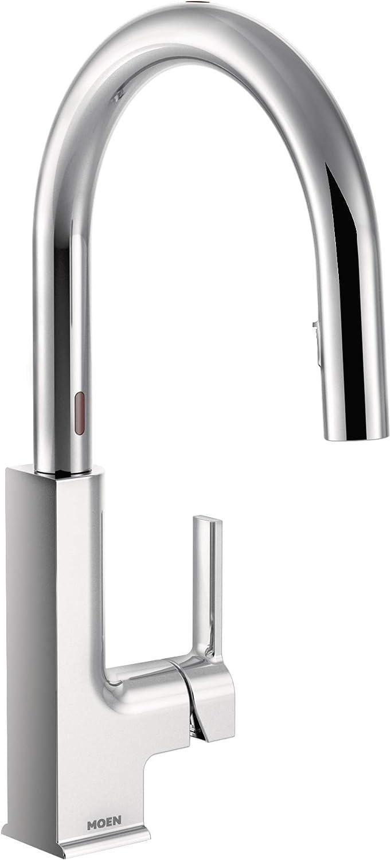 Moen S72308ec Sto Motionsense Two Sensor Touchless One Handle Pulldown Kitchen Faucet Featuring Reflex Chrome Amazon Com