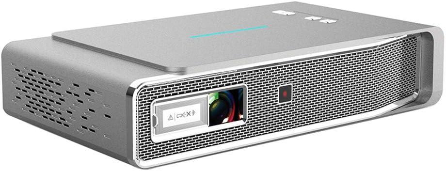 Electz Proyector 3D DLP, Mini proyector Android de 3800 lúmenes ...