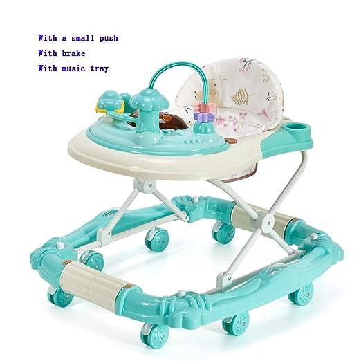 YUMEIGE Walkers andadores de bebé, con Freno, Bright Starts Walk ...