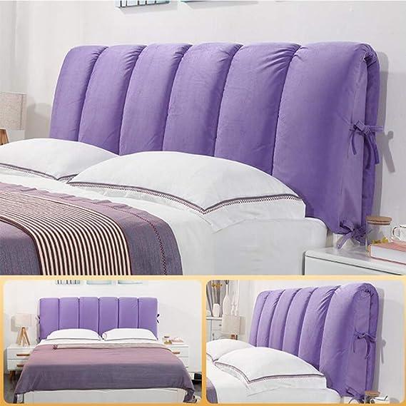 Amazon.com: HTY Almohada de cabeza de cama desmontable de ...
