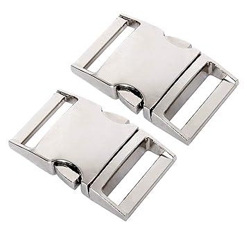 1,2 hebillas de metal de liberación rápida lateral para manualidades de 15 mm 15 mm: Amazon.es: Hogar