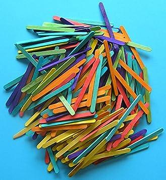 Wooden Craft Sticks From Kids Craft Thin Sticks Amazoncouk