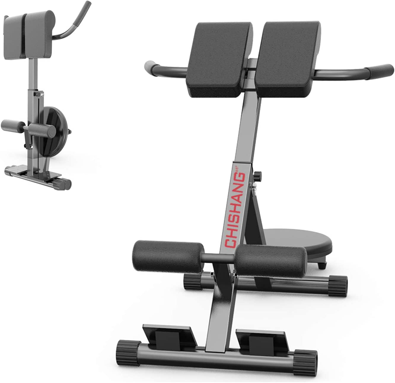 Details about  /Sit Up Incline Abs Bench Roman Chair Fitness Workouts Solid Compact