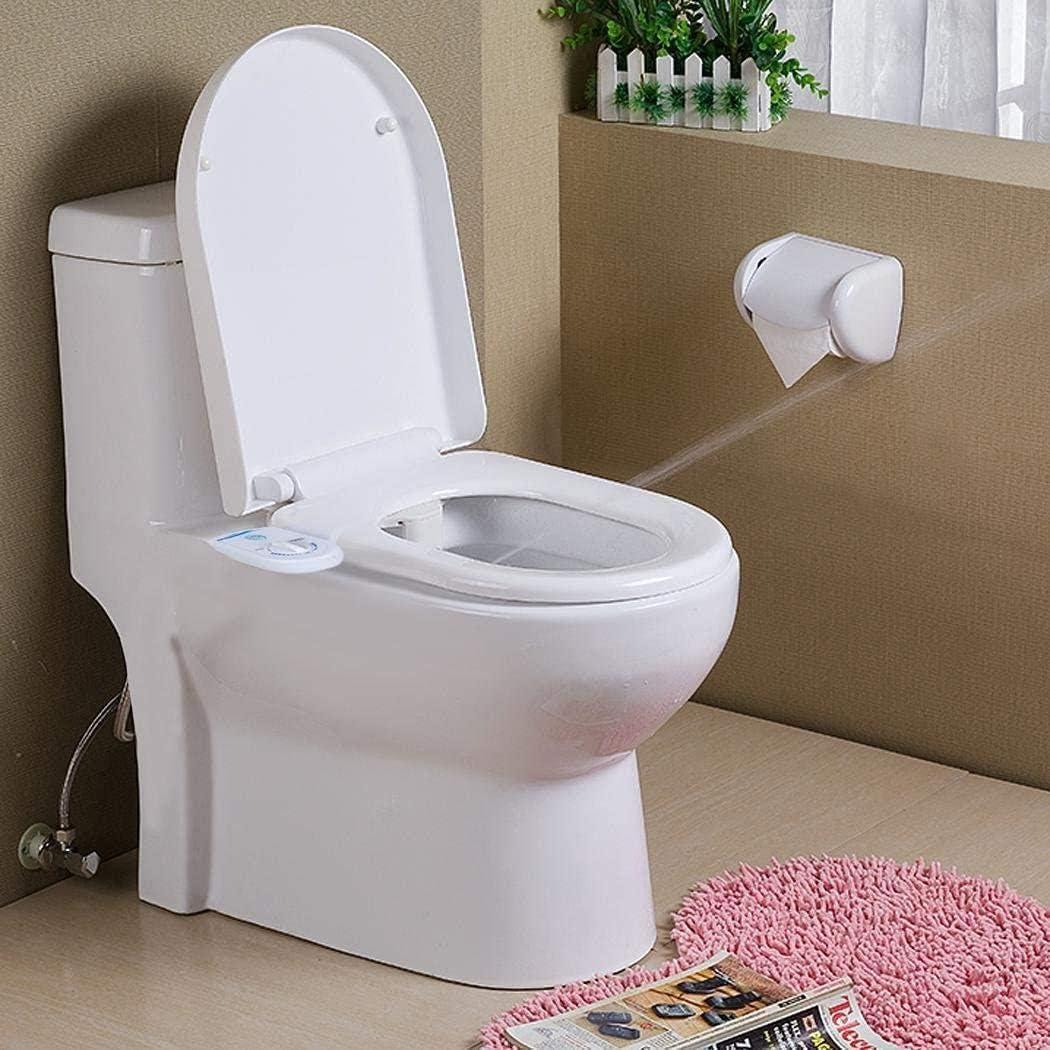 YAGAIU Fixation Non-/électrique de si/ège de Toilette de pulv/érisateur de Bidet Auto-Nettoyage Enceinte Objets de d/écoration