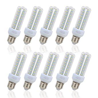 Bombilla LED, ATCD Bombillas Luz, Bombilla Led Estándar E27 3U, 9 ...